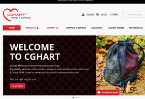 CGHart Design & Marketing Website