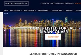 Vancouver Houses Real Estate Website