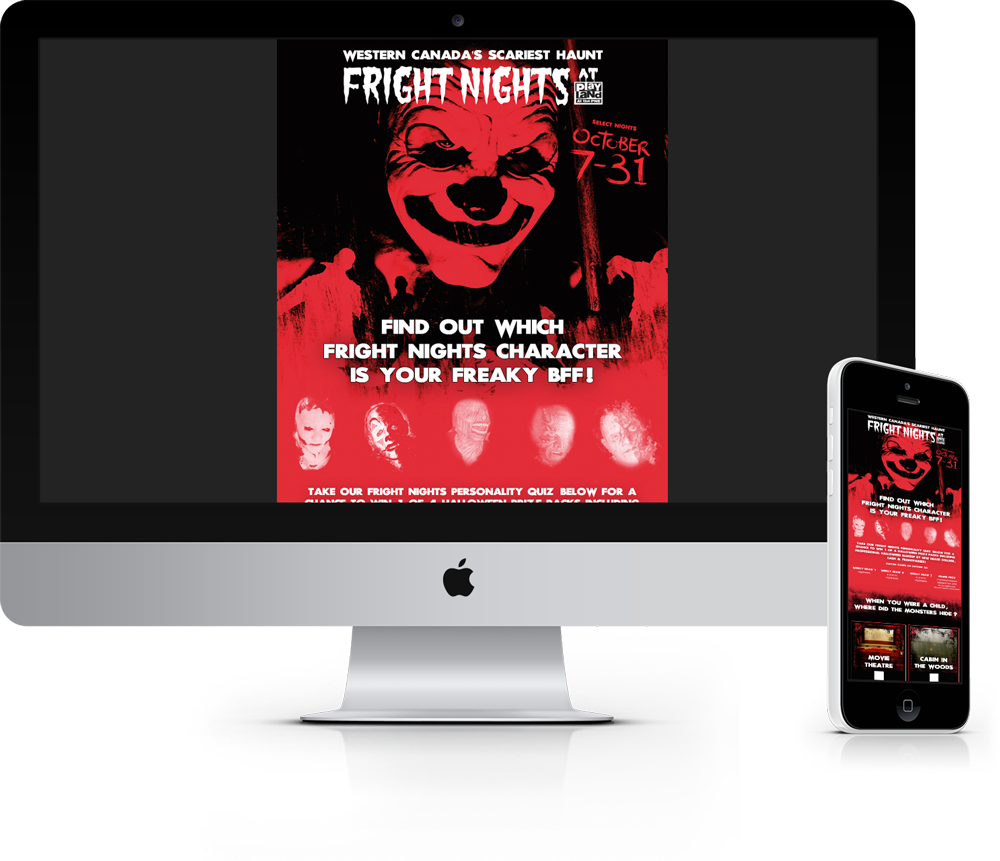 Fright Nights Social Contest
