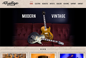 Prestige Guitars Website
